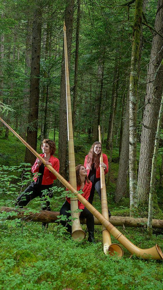 Donnacor - Trio féminin de cor des Alpes - Valais - Suisse